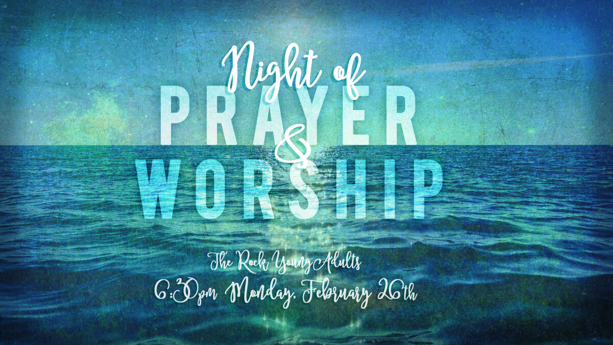 Young Adults Worship and Prayer Night