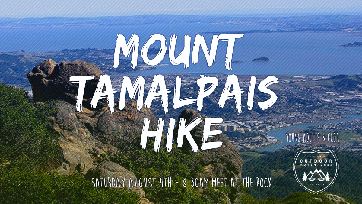 CCOA & Young Adults Mt Tamalpais Hike