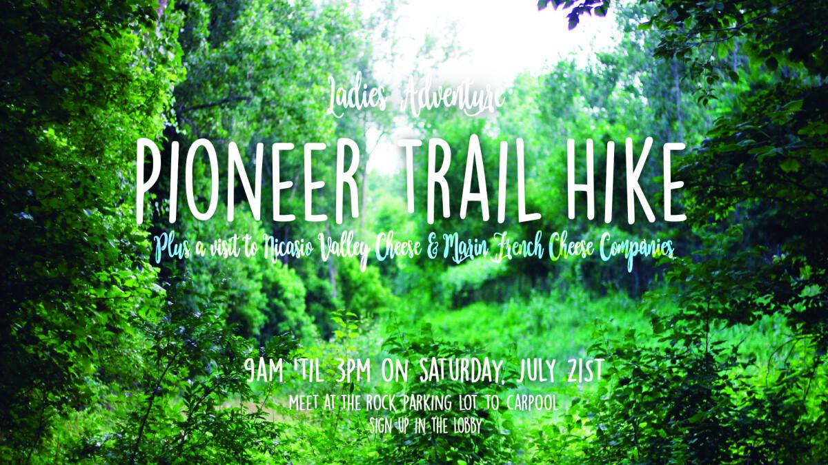 Ladies' Adventure Hike & Cheese