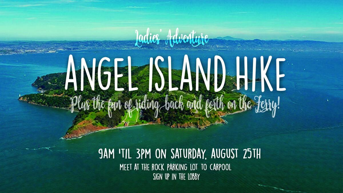 Ladies Adventure Angel Island