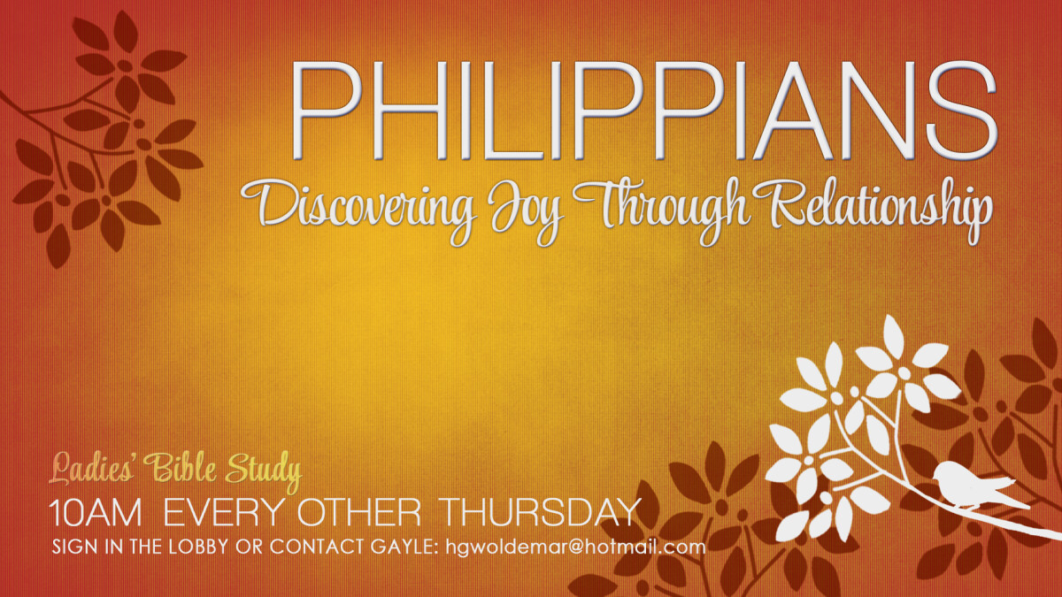 Ladies Bible Study - Philippians