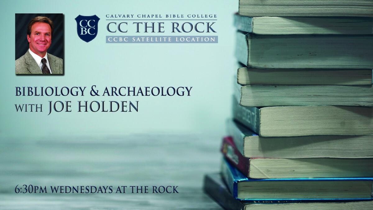 CCBC Class - Bibliology