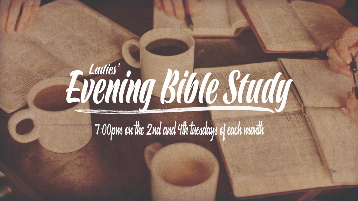 Ladies (PM) Bible Study