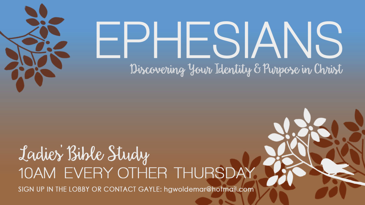 Ladies Bible Study AM (Ephesians)