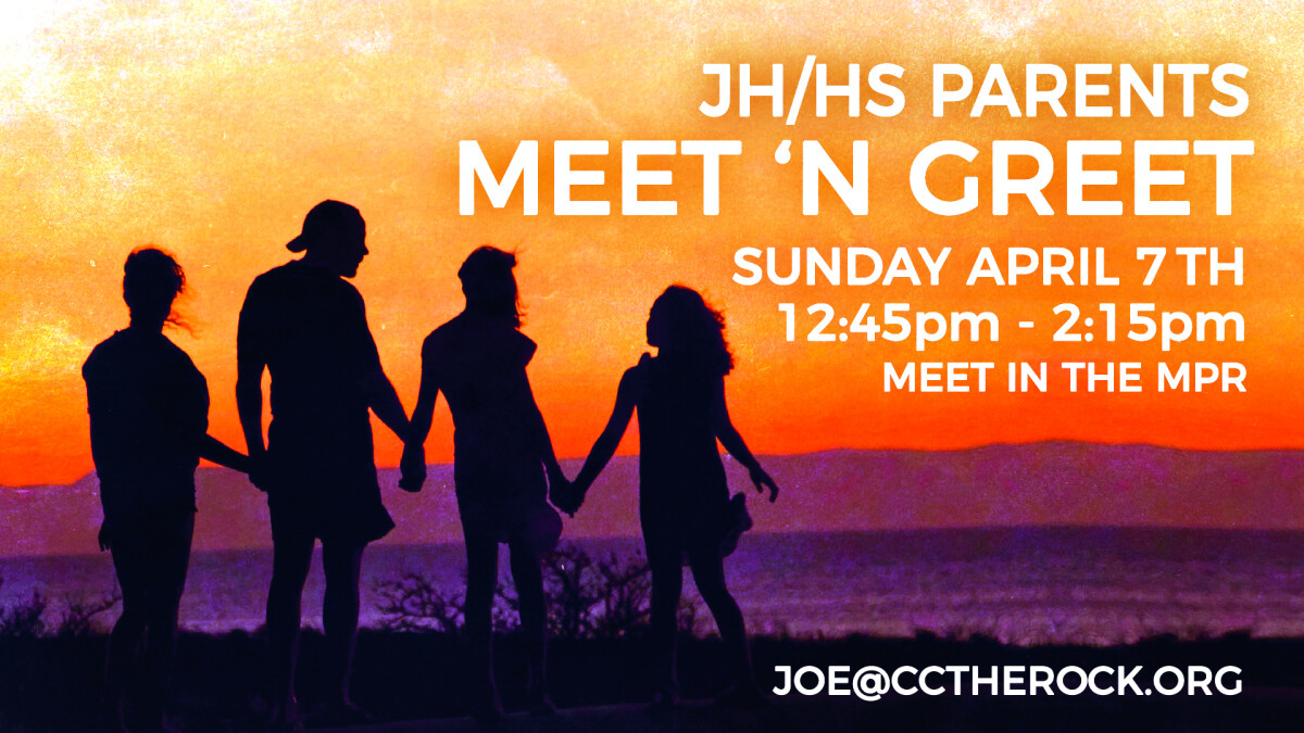 JH & HS Parent Meet and Greet