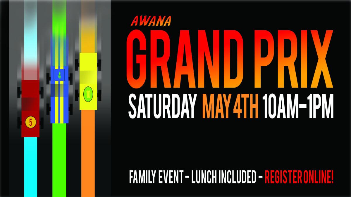 Awana Grand Prix!