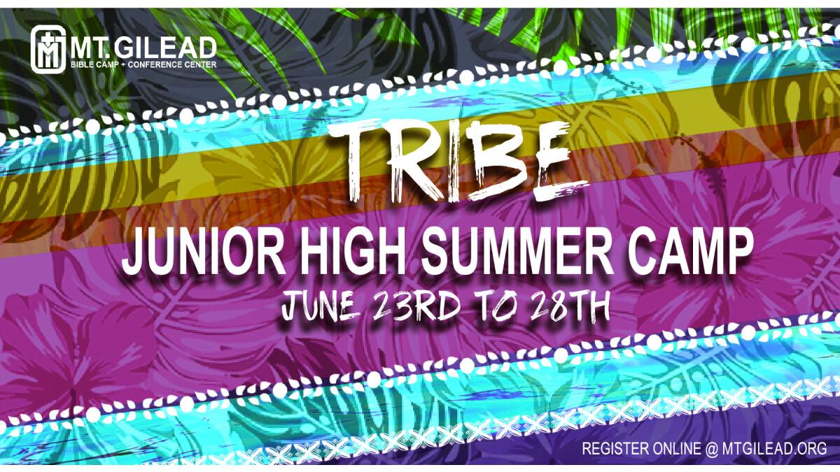 Junior High Summer Camp!