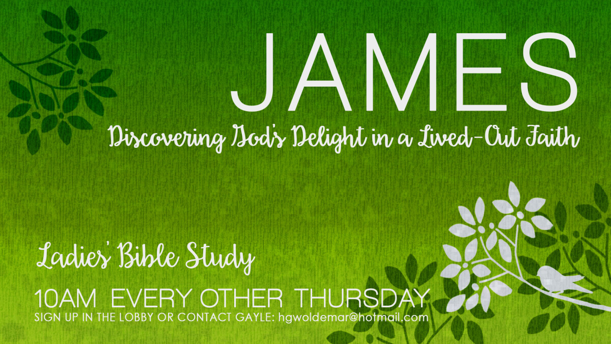 Ladies Bible Study AM (James)